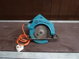 Black & Decker Circular Saw / Rip Saw - 240v