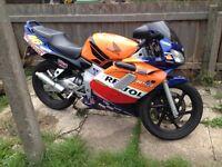 Honda nsr125 orange repsol colour fully workin and running