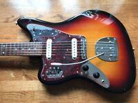 Left Handed CIJ Jaguar Guitar