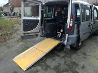 Fiat Doblo wheelchair accessible vehicle
