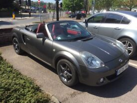 Toyota Mr2 Roadster Red Edition