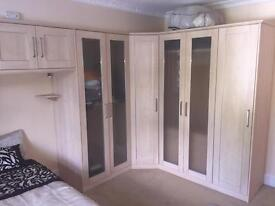 Wardrobes for large bedroom