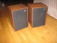 Wharfedale Denton 2 Speakers 1972 Vintage