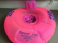 Zoggs swim ring/trainer swimming seat 3-12 Months