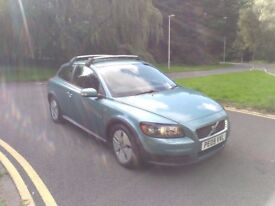 2009 VOLVO C30 DIESEL COUPE S DRIVe , 1 OWNER CAR, FSH, ROOF BARS, 70MPG