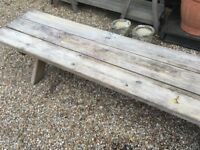 Solid Wood Bench
