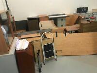 Warehouse clearance bulk items office