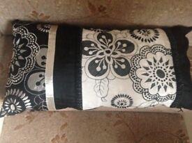 Black & Cream Cushion