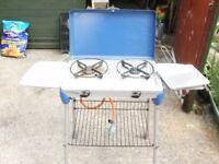 camping gaz 2 burner stove