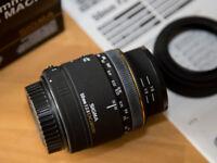 Sigma 50mm f2.8 DG Macro Lens Canon Fit