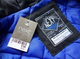 NEXT BRAND NEW BOYS COAT NEW WITH TAGS
