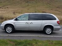 Chrysler Grand Voyager 2.8 CRD. New front tyres, MOT to April 29th 2019. Stow n Go seats.