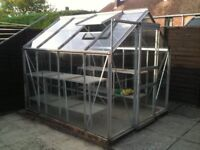 FREE Greenhouse , 7ft 3 x 6ft 4 to be dismantled by collector.