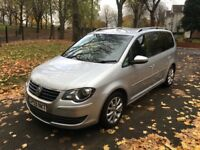 2010 (59) VOLKSWAGEN TOURAN MATCH 1.9 TDI 7 SEATER **DRIVES GOOD + GREAT FAMILY MPV + SPACIOUS**