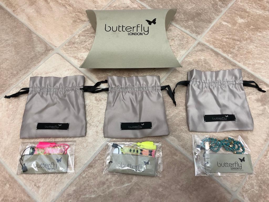 Butterfly Jewellery London - all brand new/sealed