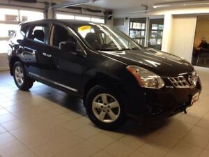 2013 Nissan Rogue S/1 OWNER LOCAL TRADE/MOONROOF/ALLOYS!!