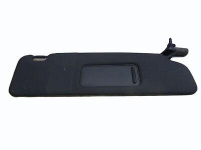 *AUDI A4 CABRIOLET B6 & B7 03-09 BLACK DRIVER OS SUN VISOR WITH LOOM 8H0857552A