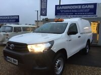 2016 66 TOYOTA HILUX ACTIVE 2.4 D4D - SINGLE CAB - 2902 MILES - ONE OWNER - AS NEW - STUNNING