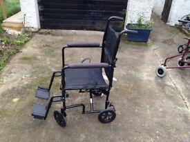 Lightweight Transport Wheelchair (Drive Medical)