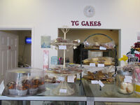 CAKE SHOP, including supplies, chocolates and gluten/wheat free, retiring due to ill health