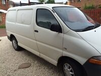 2006 Toyota hiace d4d 6 seater