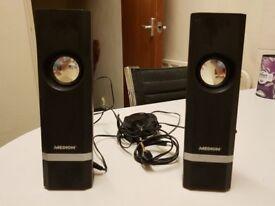 Medion 86740 Multimedia Stereo Speakers