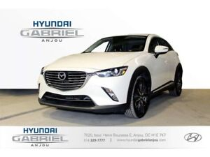 2018 Mazda CX-3 Grand Touring CUIR - TOIT OUVRANT - GPS