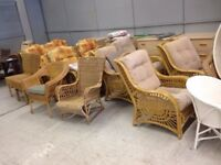 Selection of Wicker Chairs