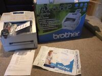 brother fax-8360p laser fax dual access