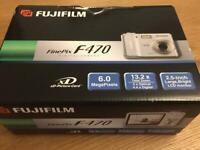Fuji F470 Digital Camera with original box