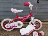 """Huffy 12"""" girls bike"""