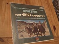 Vinyl Record 33rpm Original Motion Picture Soundtrack William Wylers The Big Country 1958