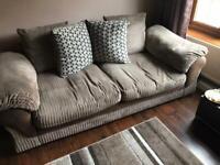 FREE- Brown fabric sofas