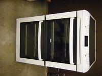 Free standing Zanussi Halogen Double Oven Cooker.