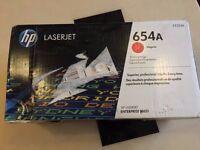 Genuine Magenta HP 654A Toner Cartridge - (CF333A)