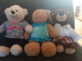 build a bears with a range of outfits
