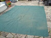 breathable awning ground sheet 12ft 6inch x 9ft 9inch as new only £20