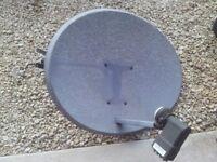 Sky Satellite Dish with LMB & Mount