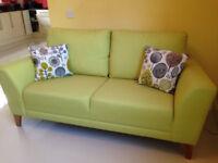 Comfortable Sofa Presented in Contemporary Fabric