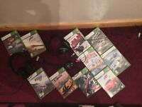 Xbox 360 Games and Headsets