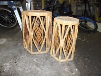 Bamboo coffee/side tables