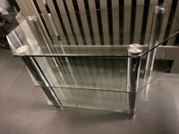 Free Tempered glass tv unit