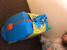 Trunki Trixie Ride-On Suitcase - Blue
