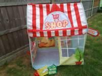 Play shop tent