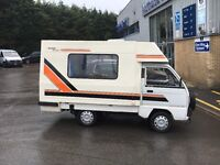 SUZUKI BAMBI CAMPER , DRIVE AWAY AWNING, LADY OWNED, EXC CONDITION - ROMAHOME MOTORHOME ETC PX POSS