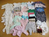 Clothes bundle (girl, 0-3 months)