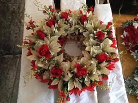 Christmas wreath decoration choice of design