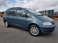 2003 VOLKSWAGEN SHARAN 1.9 TDI SPORT 7 SEATER DIESEL 6 SPEED LOW MILES SERIVCE HISTORY MAY 2018 MOT