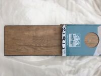 LVT Click Vinyl Flooring in Oak Finish - 1 pack £15