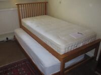 John Lewis Trundle Guest Bed